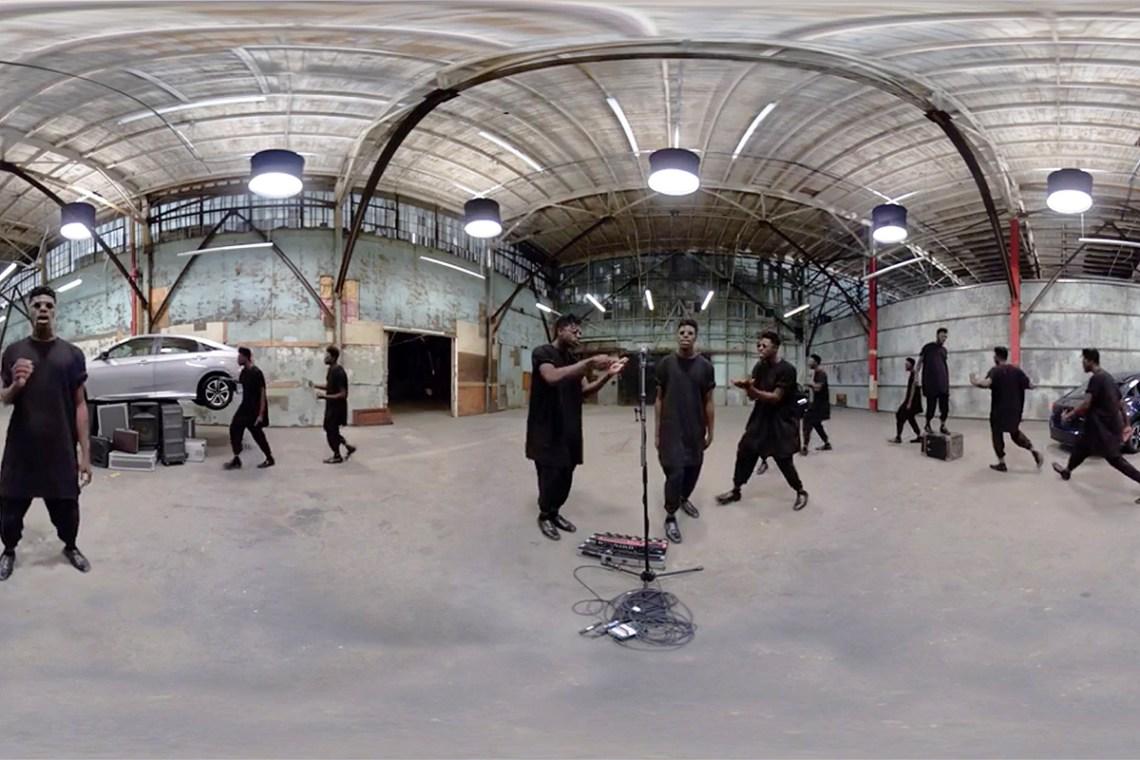honda-moses-sumney-360-music-video