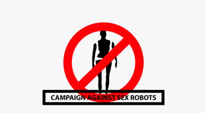 Campaign against sex robots Logo