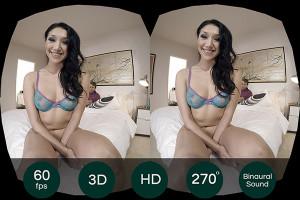 cute Vicki Chase fucks Steve Holmes in VR