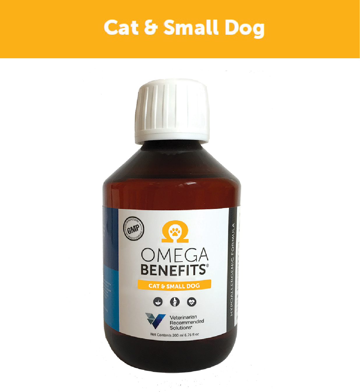 VRS Cat And Small Dog Omega Benefits