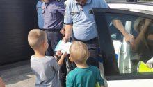 Obilježavanje Dana policije u Dječjem vrtiću Maza