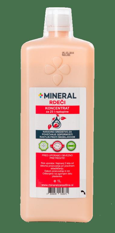 Mineral Rdeči