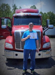 Shane Padget and his certification