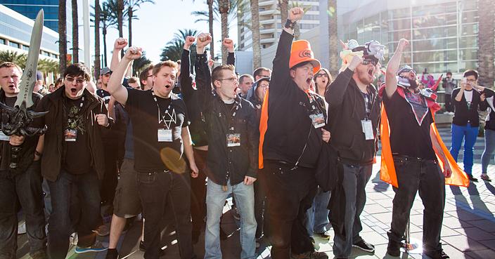 Blizzcon fans at Blizzcon 2014 (Image Credit: Blizzard)