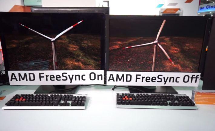 FreeSync On FreeSync Off