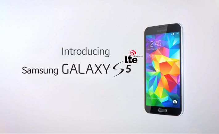Galaxy S5 LTE-A Title