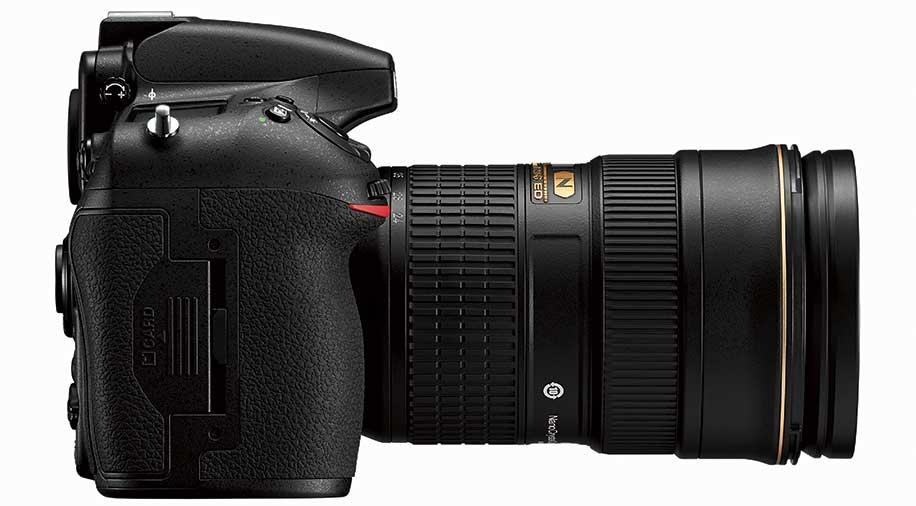 Nikon D810 Side View