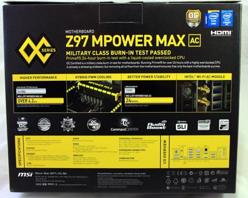 MSI Z97 MPOWER MAX AC: 4790K Overclocking Test - VR World