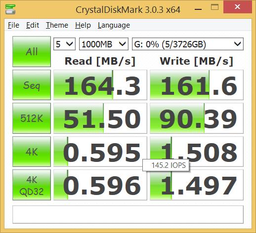 CrystalDiskMark 3.0.3 x64