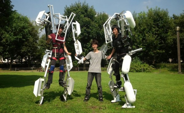 A more enhanced version of the Skeletonics Suit may be used for a superhuman sports event.