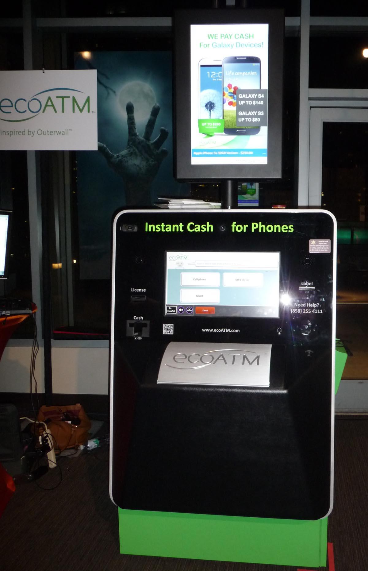 ecoATM kiosk at Pepcom-SF