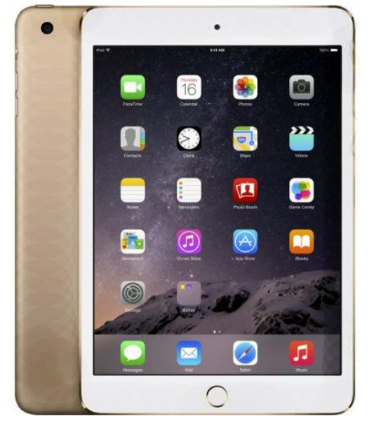 Apple iPad Air 2 Wi-Fi-Gold is selling out fast.