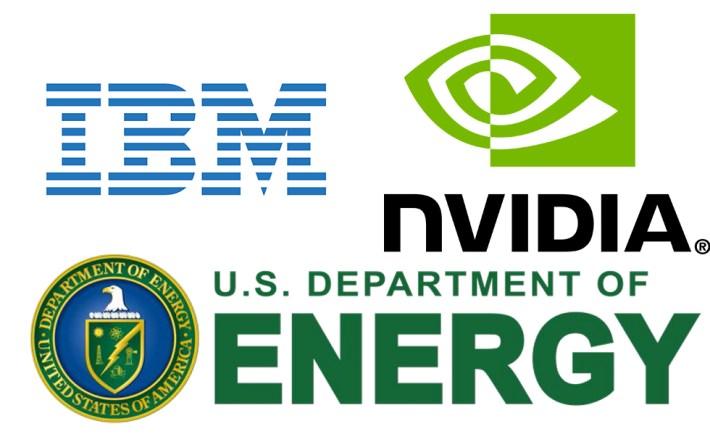 IBM Nvidia DOE Supercomputer