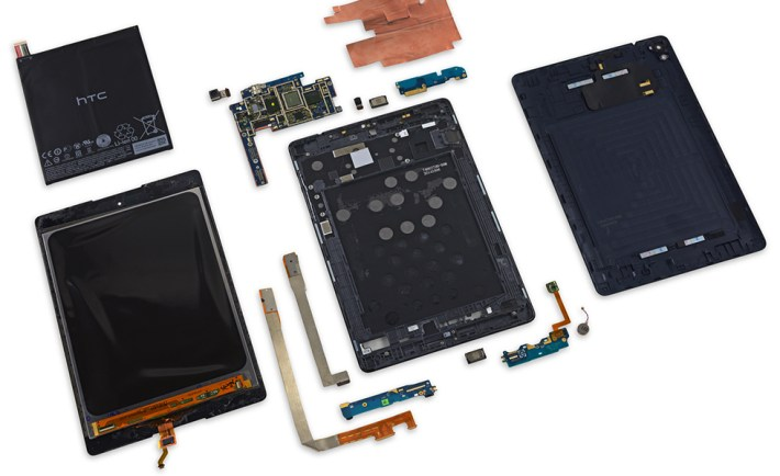 Nexus 9 Blown Up 980 image credit - iFixit