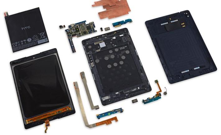 Nexus 9 Blown Up 980 image credit - iFixit