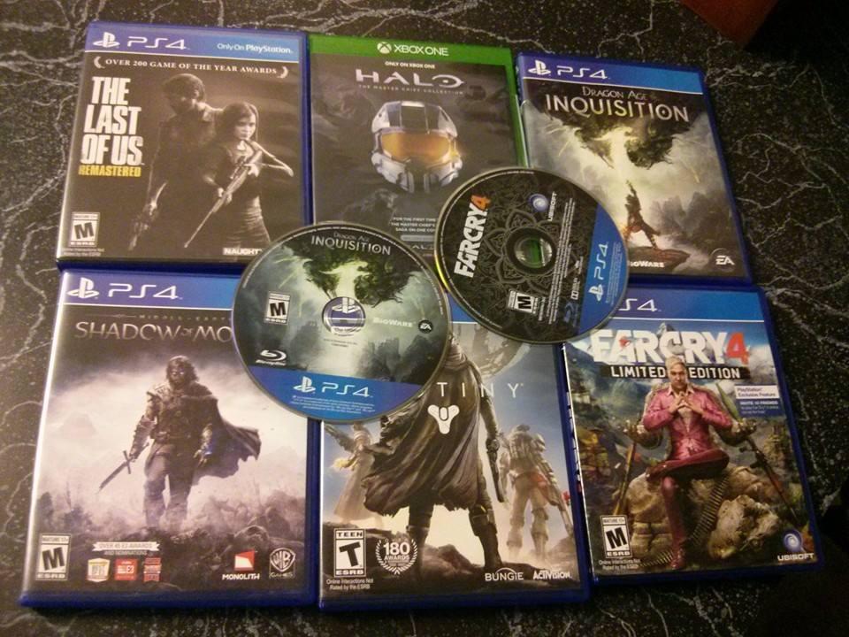 PS4 Discs