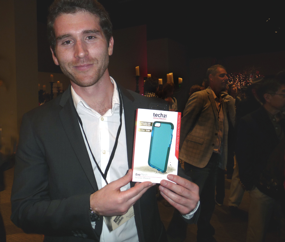 At Pepcom, BSN* learned of the Evo Mesh protective casings for the iPhone 6 from Tech21.