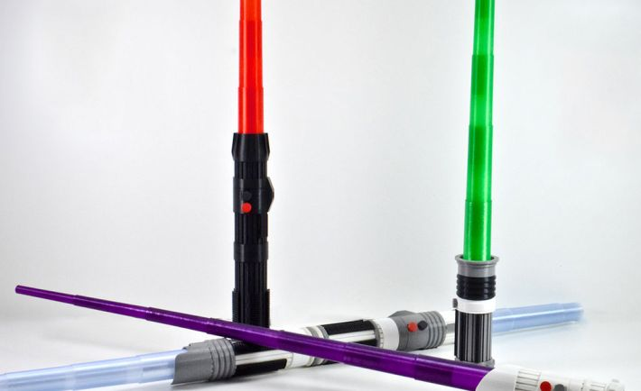 3D Printed Lightsaber - 1