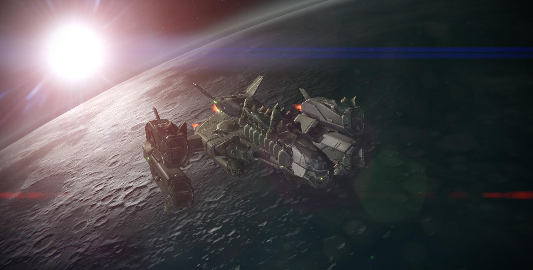Destiny Bane of Dark Gods Ship