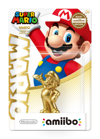 Golden Mario AMiibo