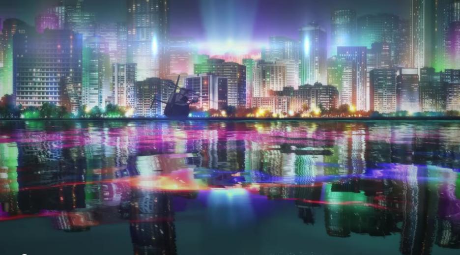 Persona 5 Cityscape