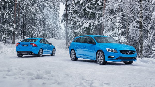 Volvo Polestar In Beautiful Winter Scenery