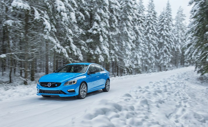 Volvo Polestar In Beautiful Winter Scenery