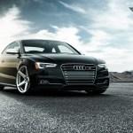 Audi S5 With A Set Of Vorsteiner Wheels