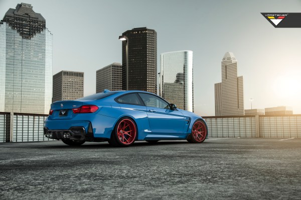Vorsteiner BMW GTRS4 Widebody
