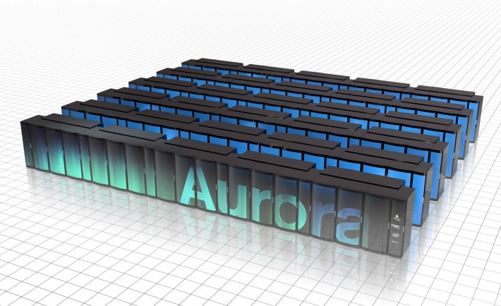 Intel Xeon and Xeon Phi will power the Aurora supercomputer at Argonne National Laboratories.
