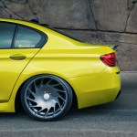 BMW F10 M5 With Vossen Wheels Installed