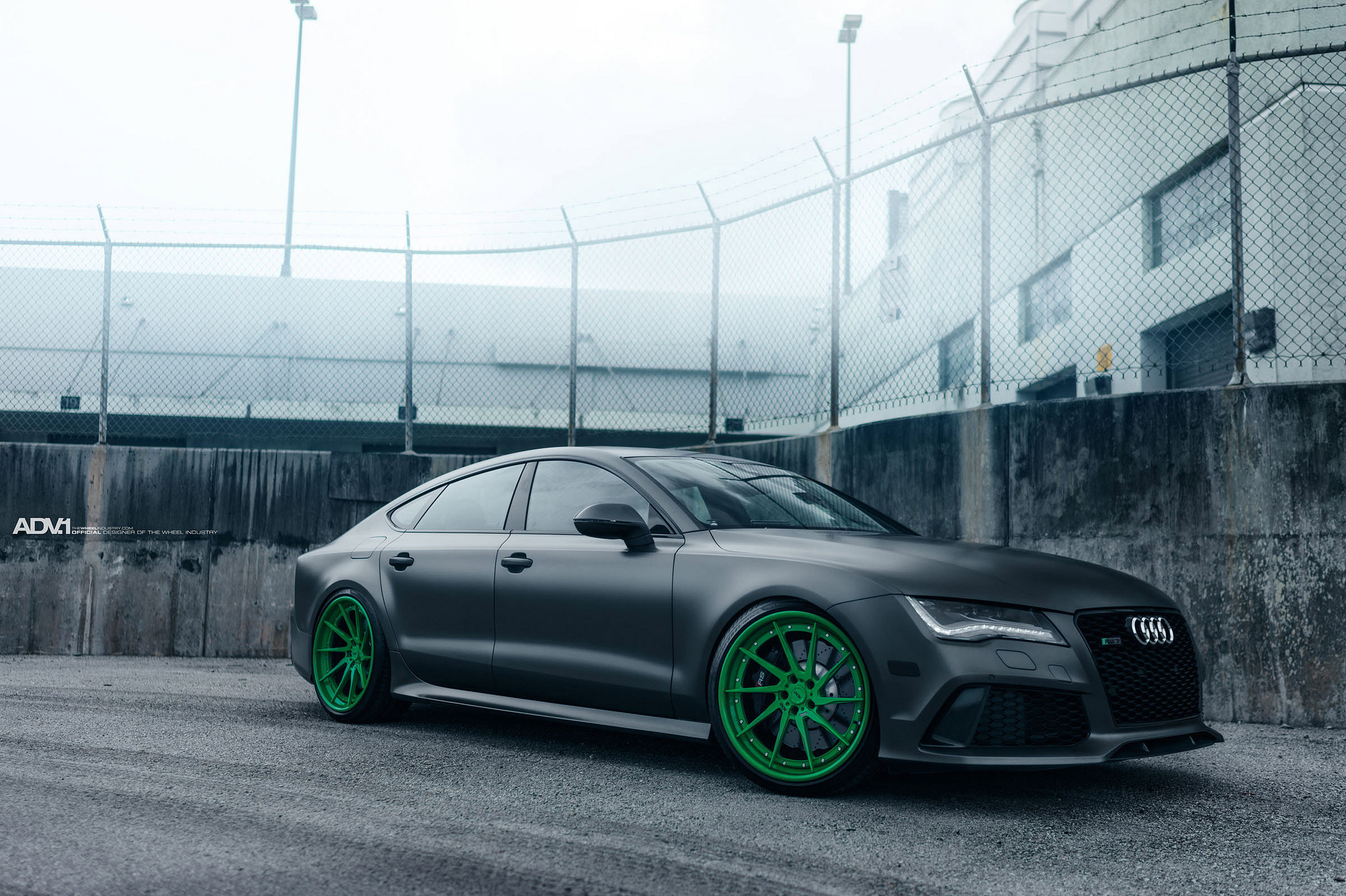 Audi RS7 Featuring A Set Of ADV 1 Wheels - VR World
