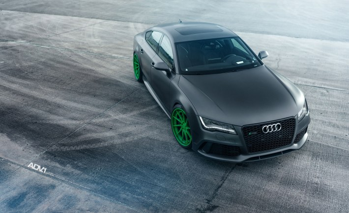 Audi Rs7 Featuring A Set Of Adv 1 Wheels Vr World