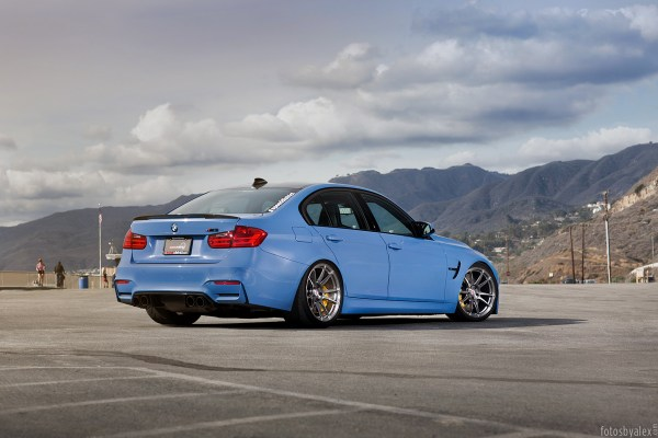 BMW M3 with HRE P44SC Wheels 9