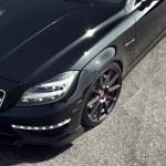 Mercedes-Benz CLS63 AMG With Vorsteiner Flow Forged V-FF 102 Wheels