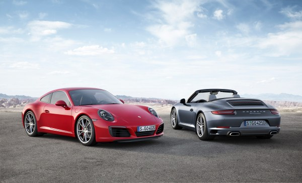 The new 911 Carrera models