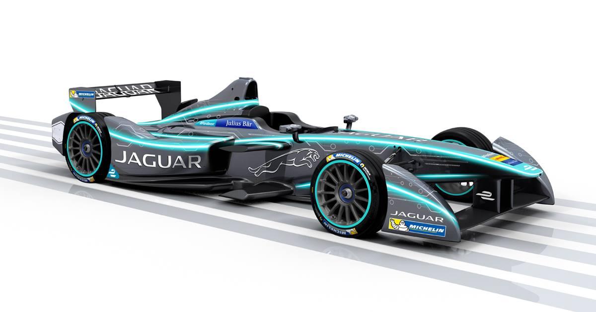 2016-17 Jaguar Racing Formula E Concept Color Scheme.