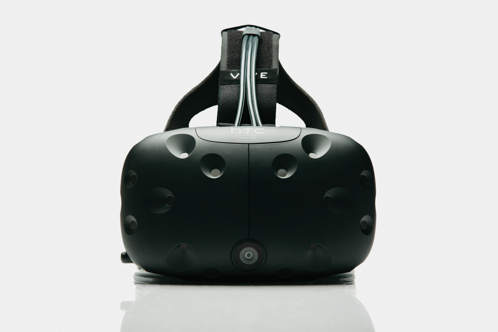Vive VR HMD in its shipping version.