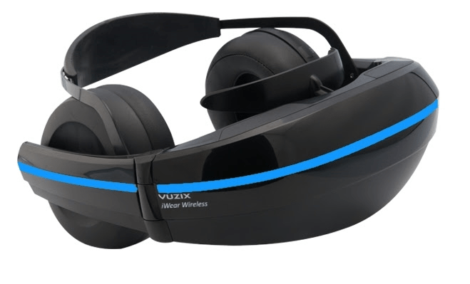 Vuzix iWear Virtual Reality Glasses run Android 5.0