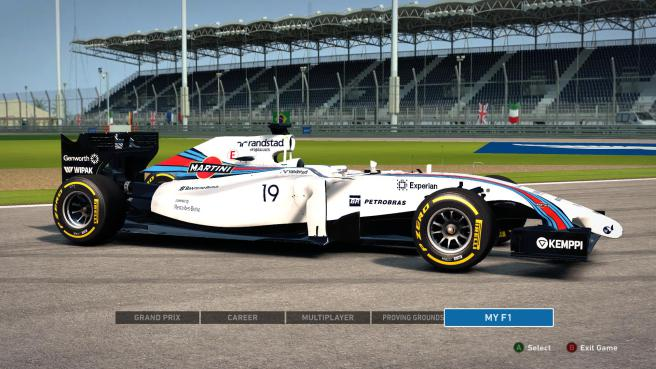 Williams Martini Racing can only be seen after modding the game