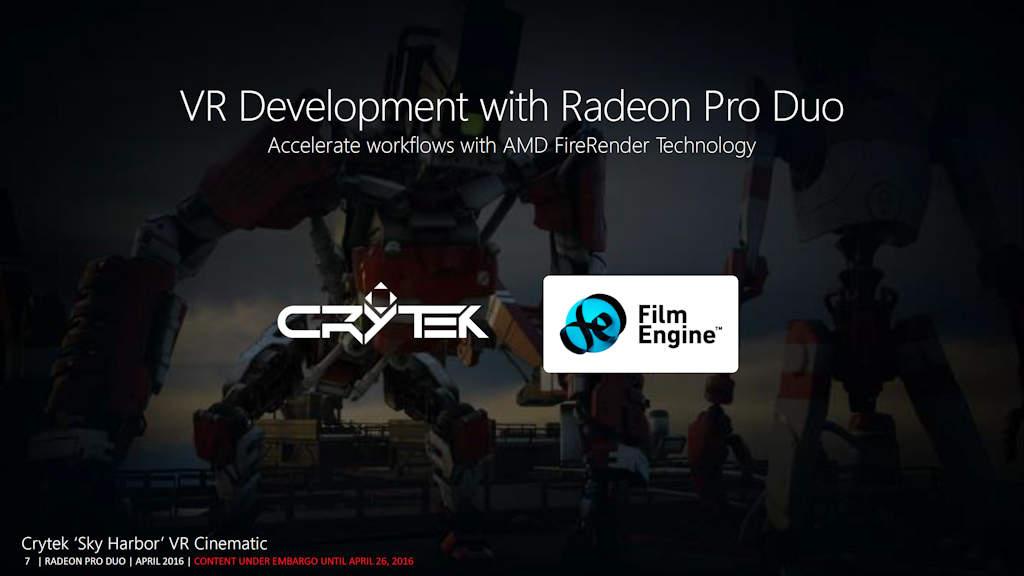 AMD FireRender aids VR Development