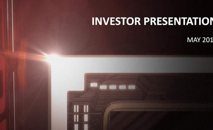 AMD Investor Presentation