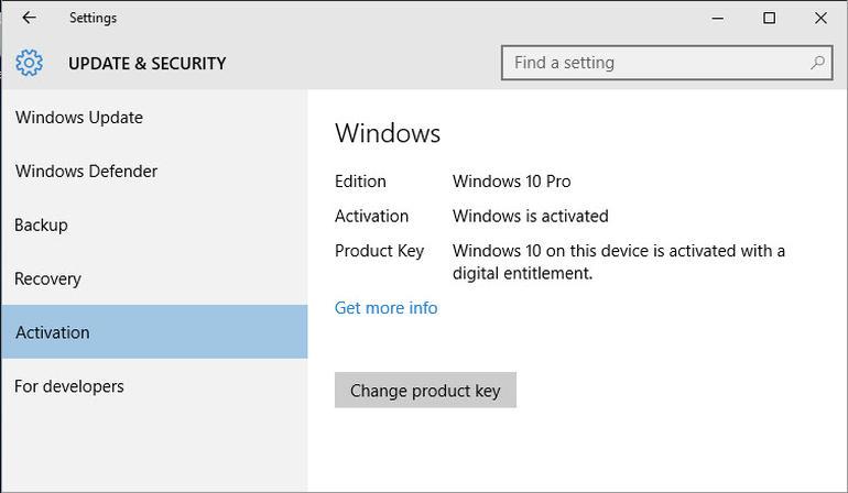 Microsoft Windows 7 Rollback