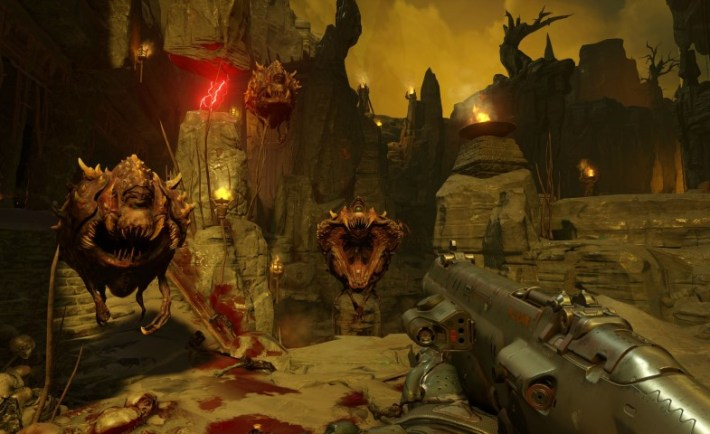 DOOM screenshot. Credit: idSoftware
