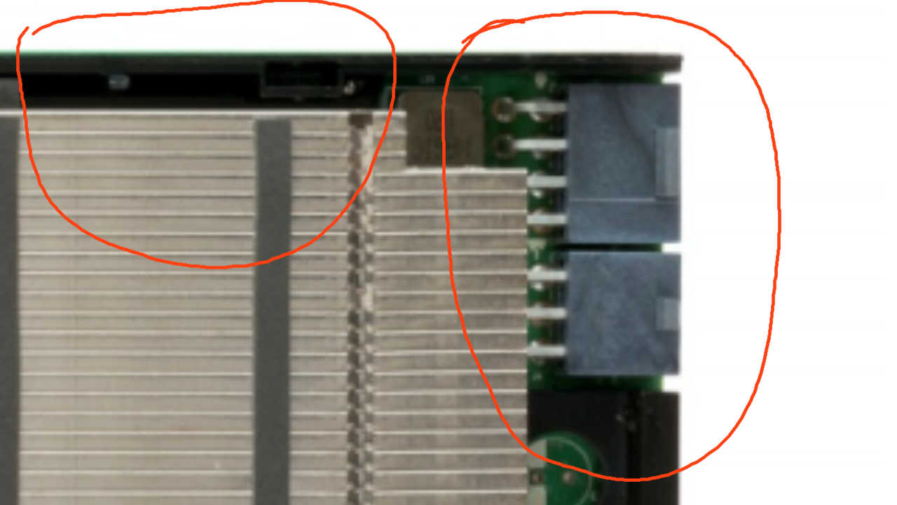 8+8+6-pin power connectors remain an option for GP100-based GeForce GTX Titan