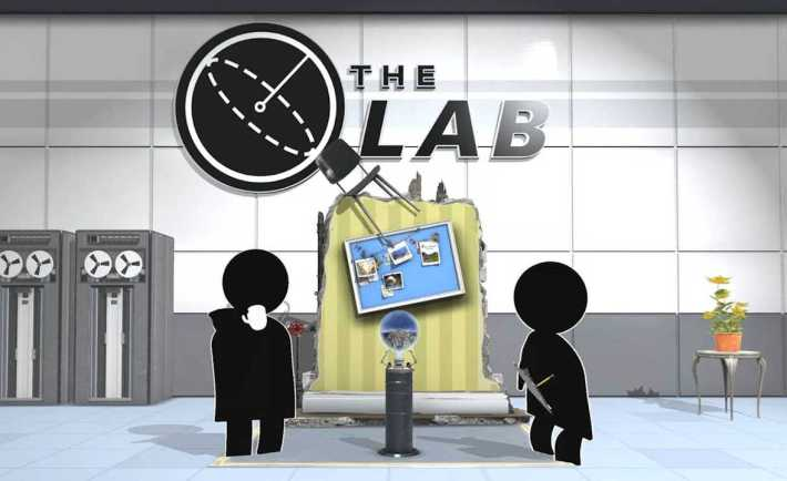 Valve's The Lab VR mini-games