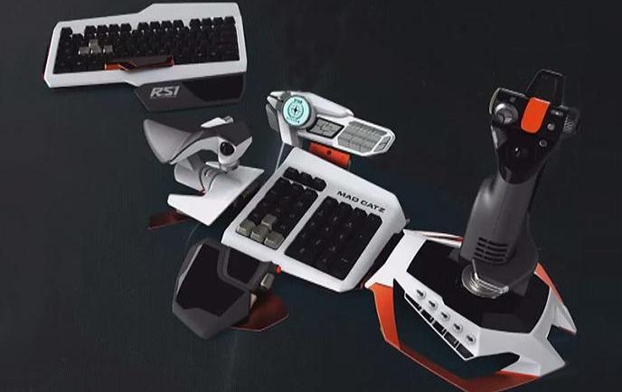 Saitek's Concept controller for Star Citizen