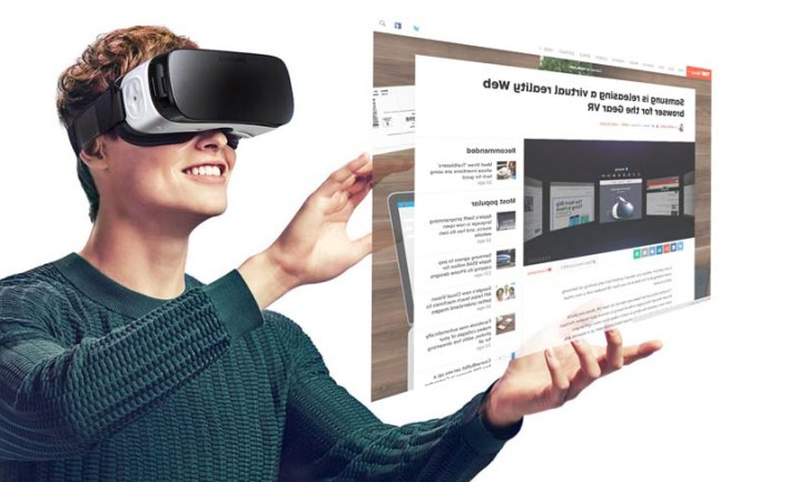 Online browsing in Virtual Reality is coming