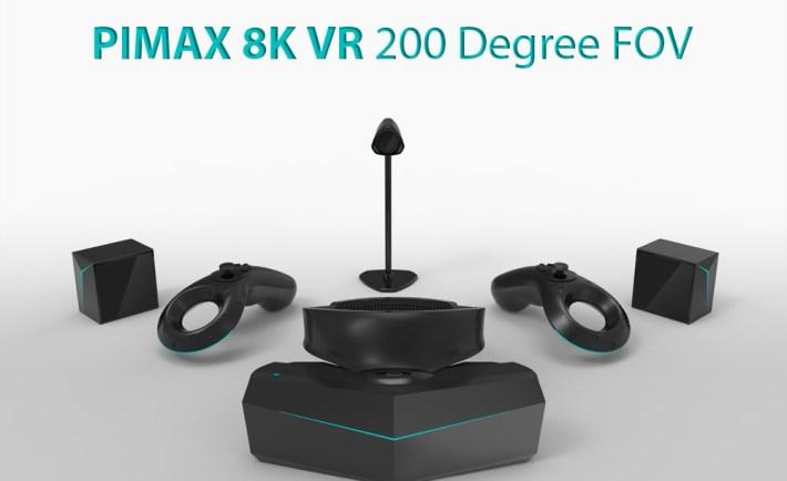 Pimax Announces World's First 8K VR Headset VR World