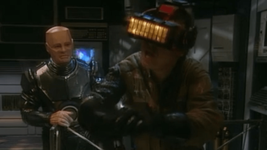 Scene from Red Dwarf